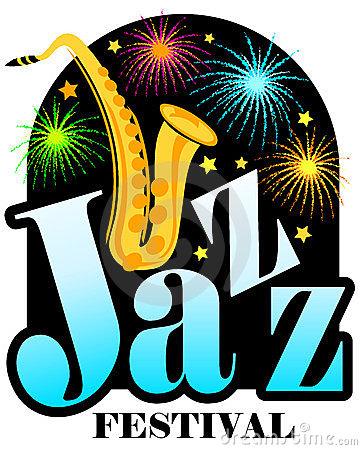 Jazz Festival Royalty Free Stock Photos.