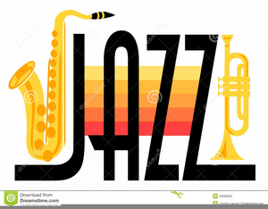 Jazz Instruments And Clipart.