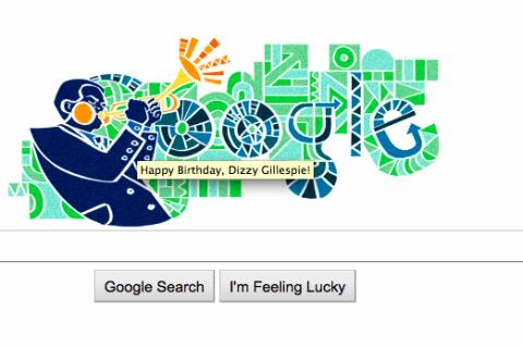 Happy Birthday, Dizzy Gillespie: Google Doodle Celebrates Jazz.