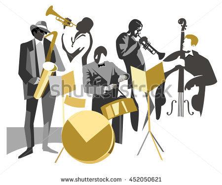 Jazz Stock Photos, Royalty.