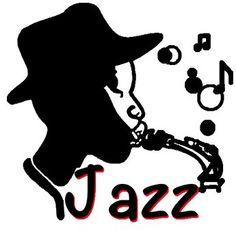 Clipart Vector of Jazz quartet.