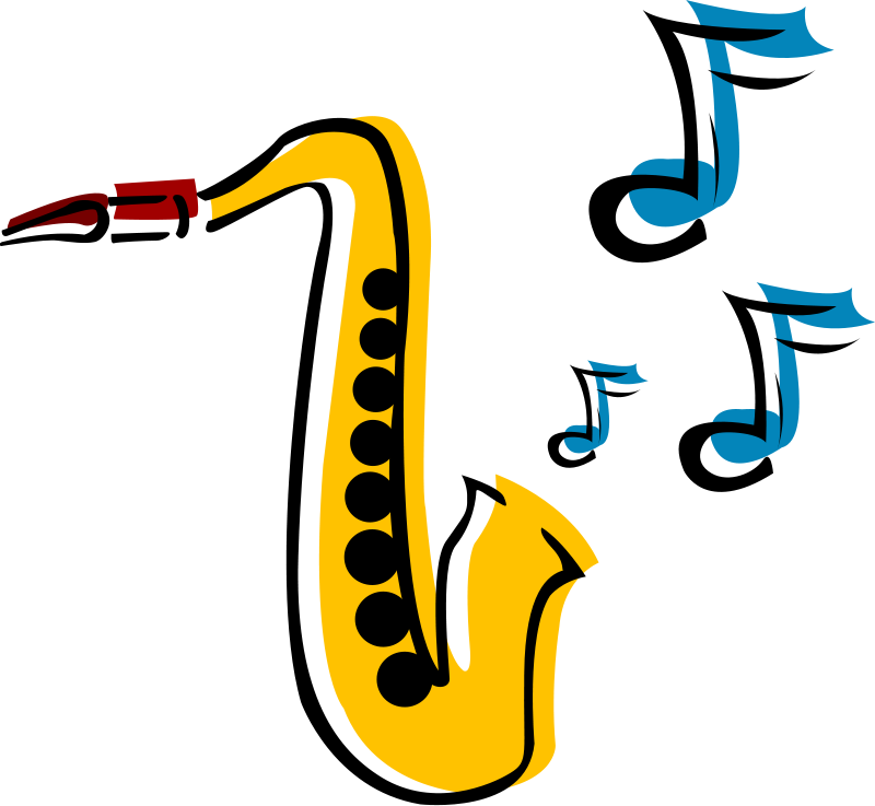Jazz Music Clipart.