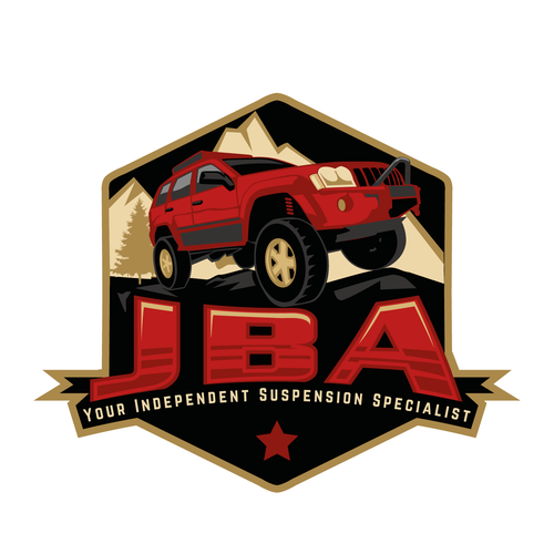 Create New Logo for JBA an Offroad Automotive Suspension.