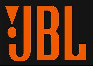 Details about JBL Logo orange Lettering For Speaker Cabinet refurbishing or  just to display.