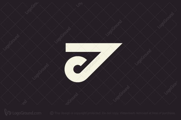 Exclusive Logo 165469, JC, CJ Monogram Logo.