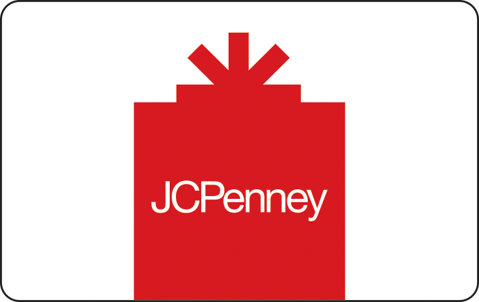 JCPenney Gift Card.