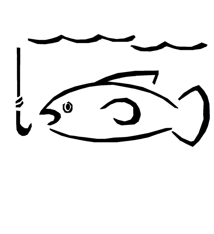 Fishing Hook Clip Art.