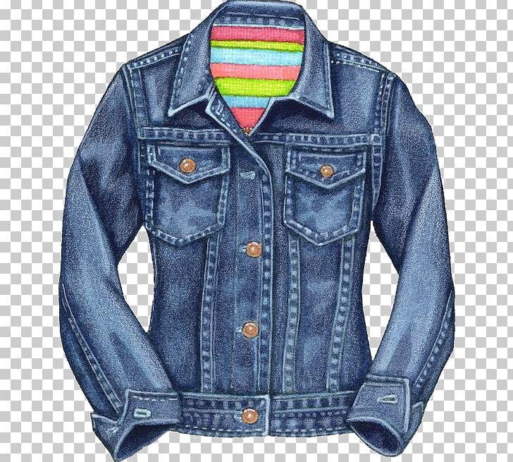 Denim Jacket Jeans PNG, Clipart, Art, Blue Jeans, Button, Clothing.
