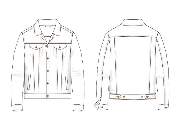 Best Denim Jacket Illustrations, Royalty.