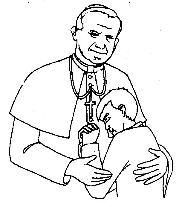 Gallery For > St. John Paul II Clipart.