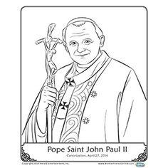 Cute Saint Bernadette Catholic coloring page. Feast day is April.