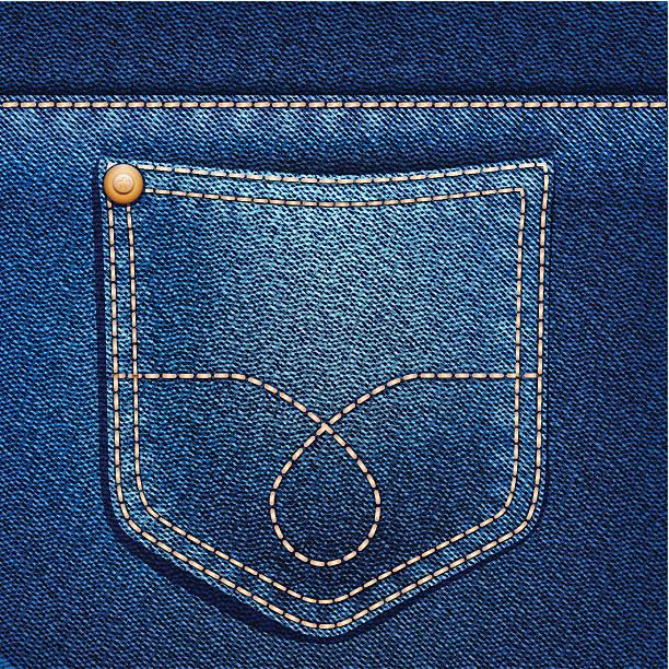 Best Jean Pocket Illustrations, Royalty.