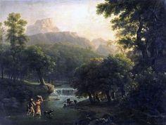 Landscape Portrait Painting.