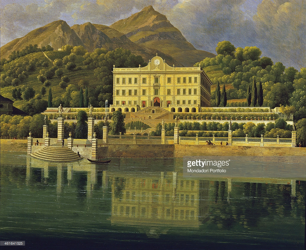 View of Villa Sommariva, by Jean.