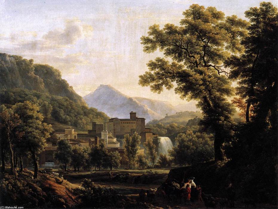 Vue de l île de Sora (2), huile sur toile de Jean Joseph Xavier.
