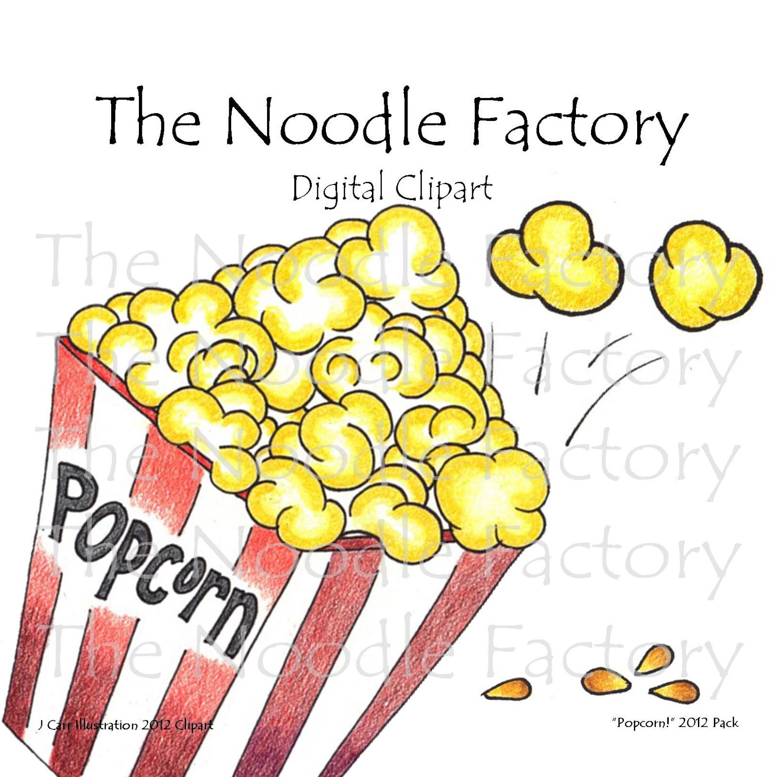 Popcorn Picture 2 Clipart.