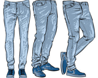 jeans clipart.