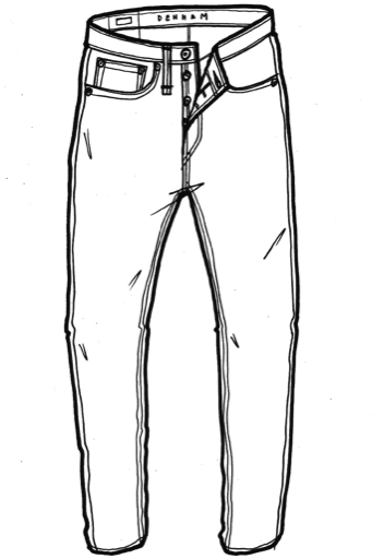 Jeans Clipart Black And White (87+ images in Collection) Page 2.