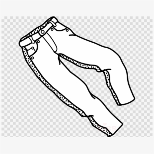 Free Jeans Clipart Black And White Cliparts, Silhouettes, Cartoons.
