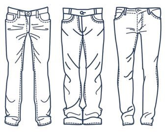 Jeans clipart black and white 3 » Clipart Portal.