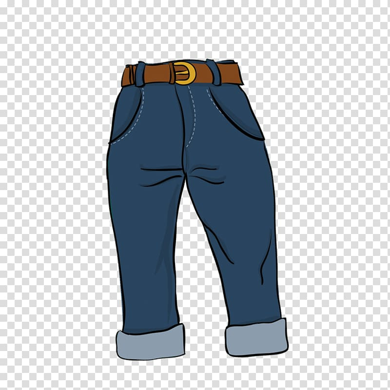 Jeans Blue Euclidean , blue jeans material transparent.