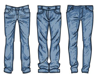 Jeans day clipart 3 » Clipart Portal.