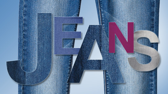 Free Jeans Day Clipart.