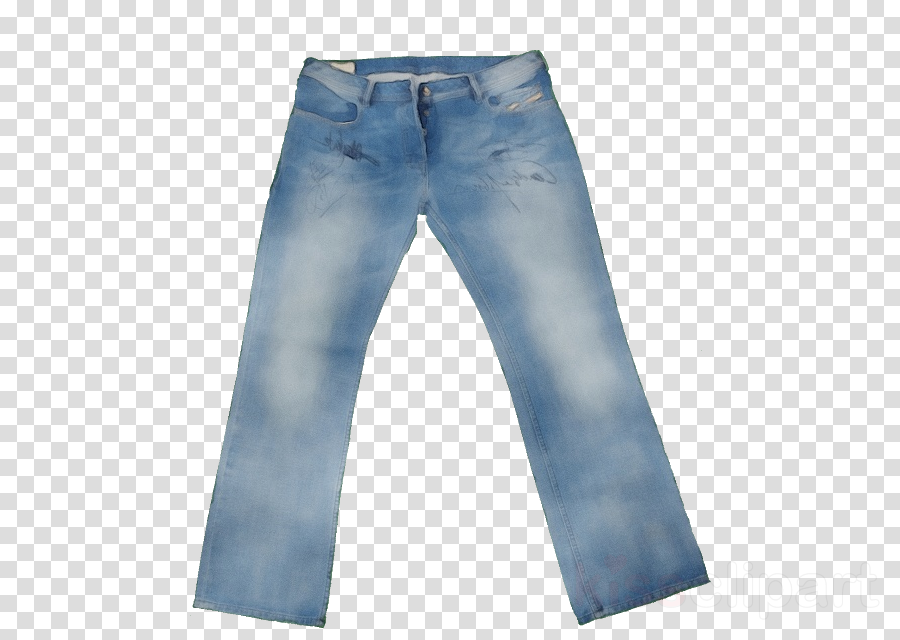 denim jeans clothing blue pocket clipart.