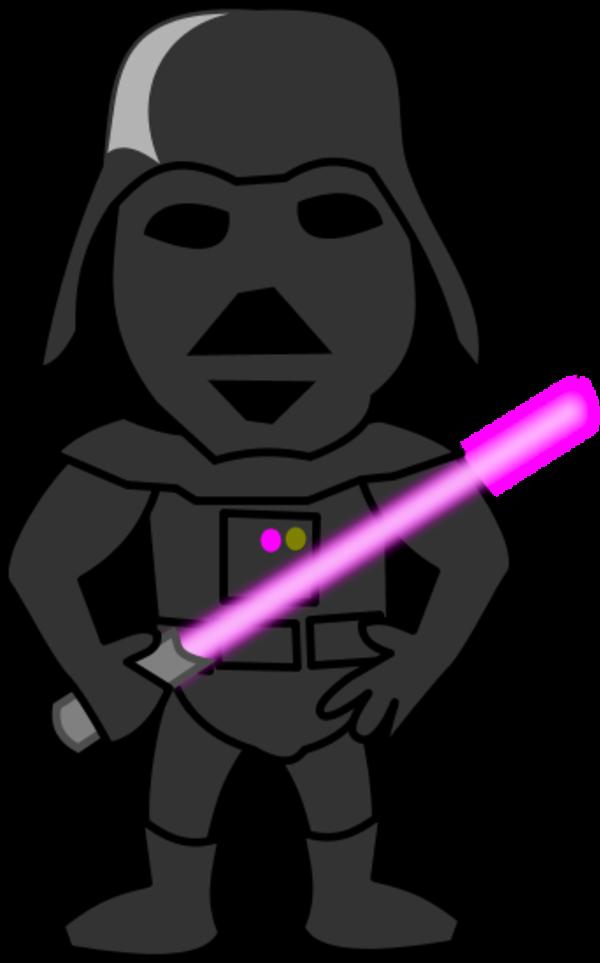 Jedi vs sith clipart.