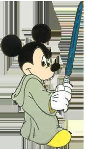 Jedi Mickey Clipart.