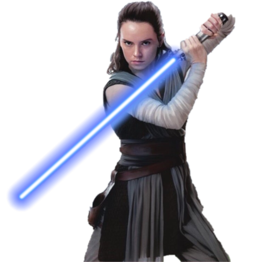 PNG Rey (Star Wars, Daisy Ridley, The Last Jedi, Force Awakens.