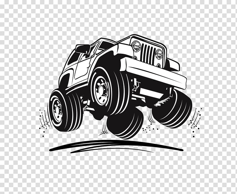 Jeep Wrangler illustration, Jeep Wrangler Sport utility.