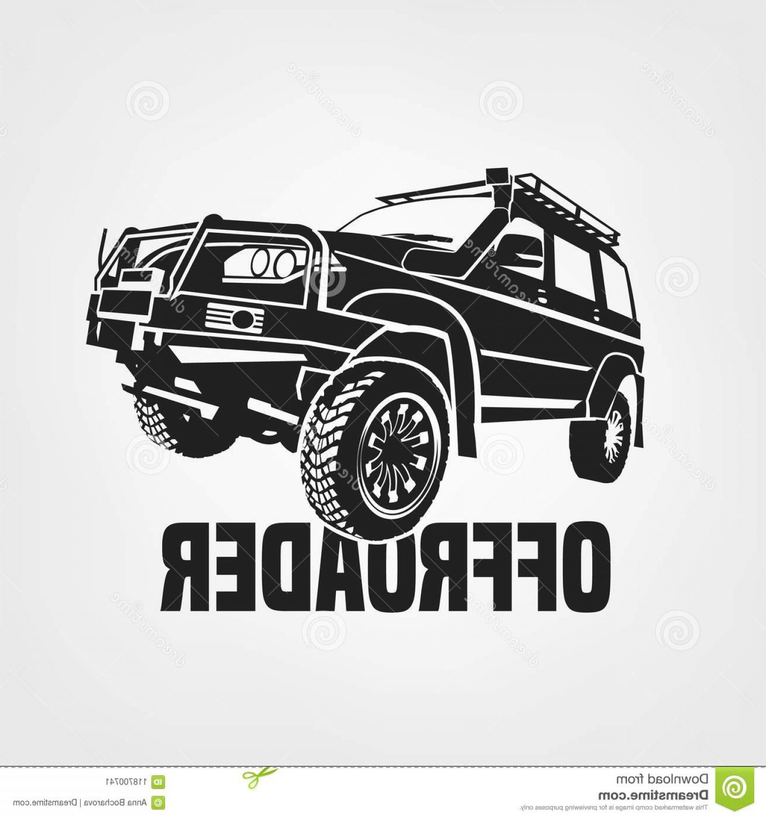 Jeep Cherokee Vector Art.
