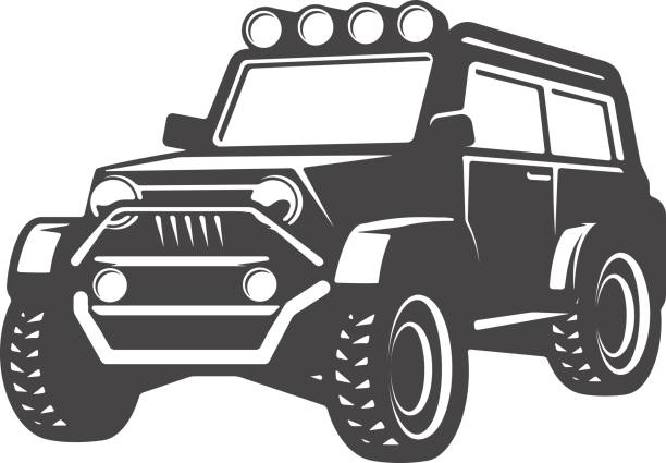 Best Jeep Illustrations, Royalty.