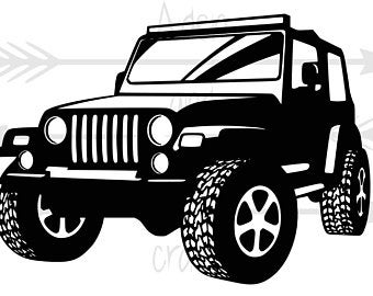 Jeep clip art.