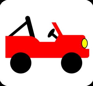 Red Jeep Clip Art at Clker.com.