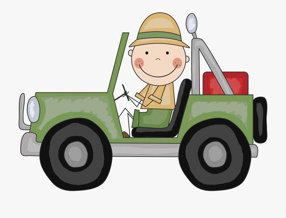 Safari Jeep Clipart Free.