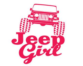 jeep girl stencil svg dxf file instant download silhouette cameo.