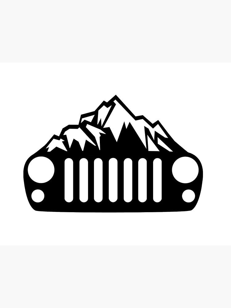 Jeep Wrangler JK/JKU Mountain Grill.