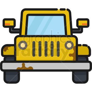 beach buggy jeep icon . Royalty.
