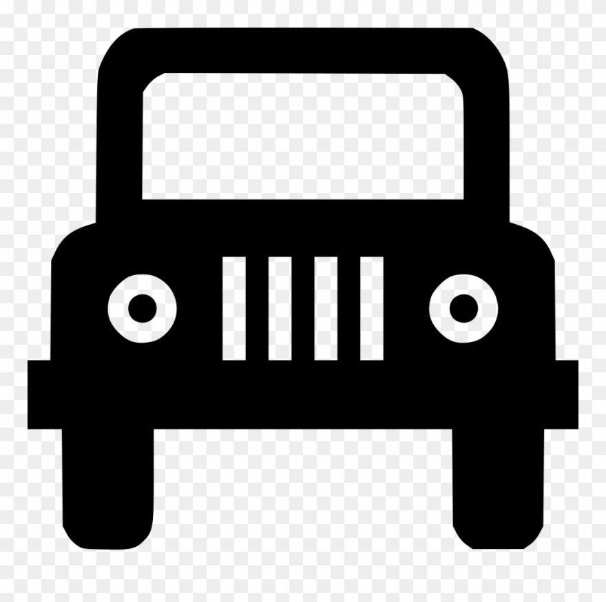 Jeep Svg Png Icon Free Download Clipart (#3117498).