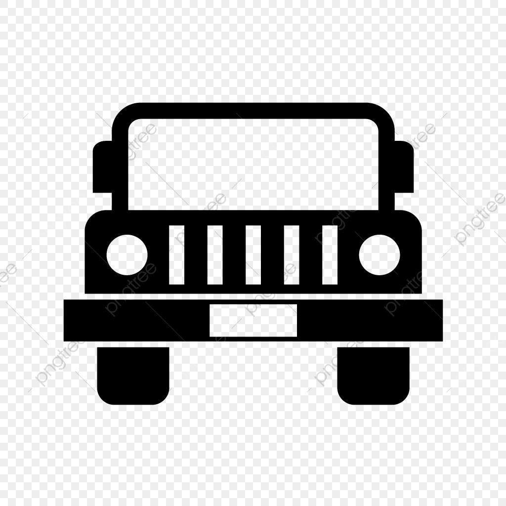 Vector Jeep Icon, Jeep Icon, Vichle, Transport PNG and Vector with.