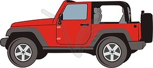 Jeep clipart 7 » Clipart Station.
