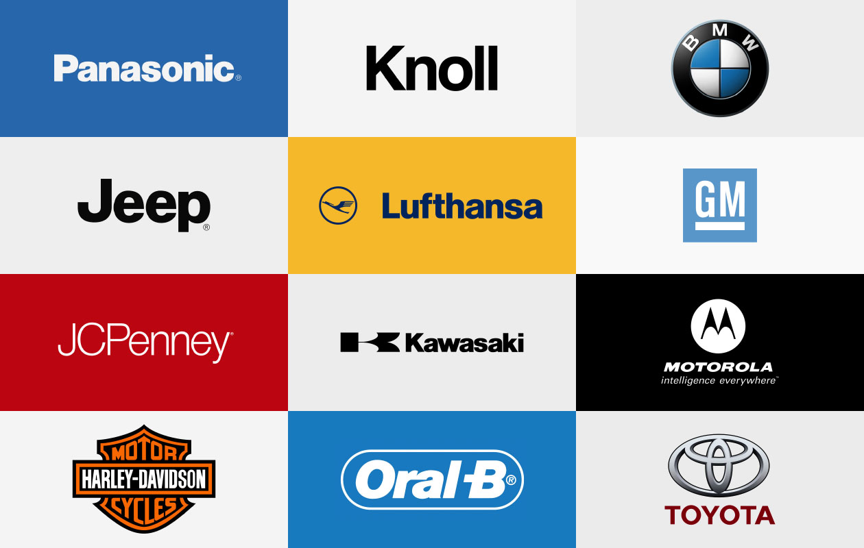 Famous Brands that Uses Helvetica.