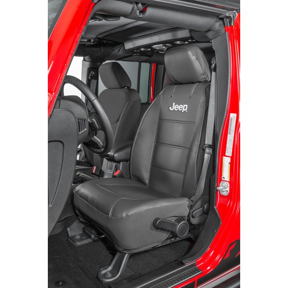 Plasticolor Jeep Logo Sideless Front Seat Cover.