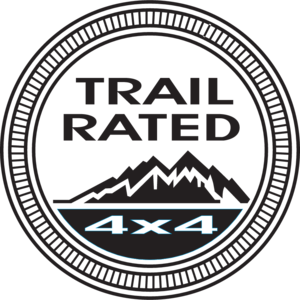 Jeep Trail Rated logo, Vector Logo of Jeep Trail Rated brand.