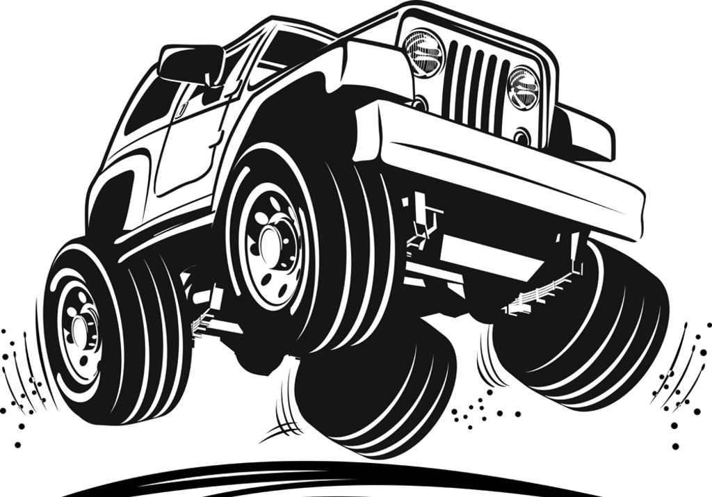 Jeep Wrangler Car Vector graphics Clip art.