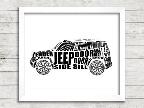 Jeep Renegade Clipart.