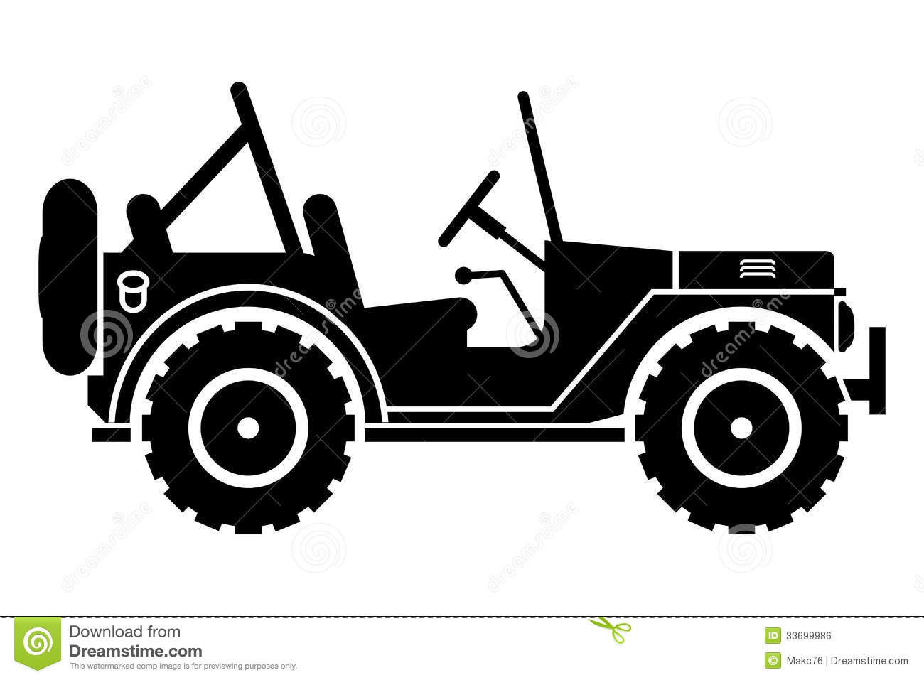 Jeep Clipart Silhouette.