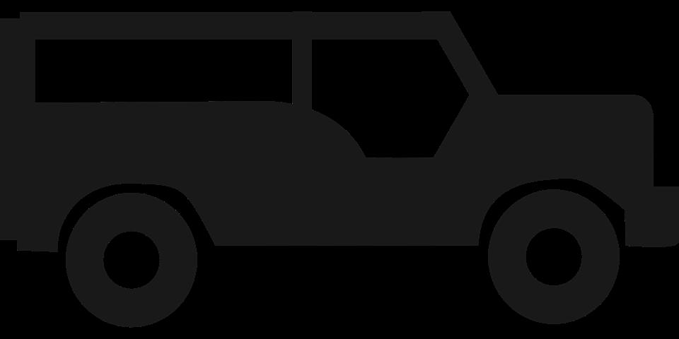 Jeep Wrangler Car Jeepney Clip art.